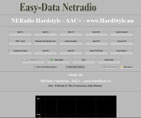 Easy-Data Mediacenter 2013- Netradio