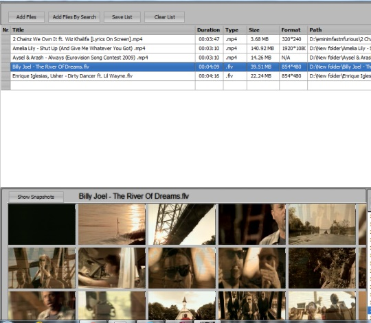 Easy-Data Mediacenter 2013- Video playlist