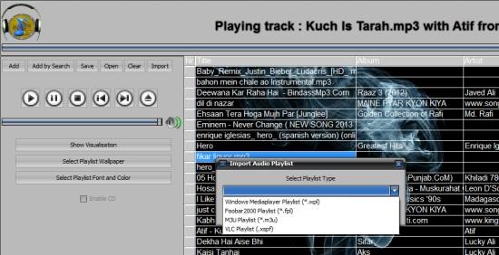 Easy-Data Mediacenter 2013- audio player