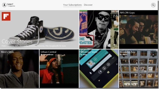 Flipboard - Your Subscriptions