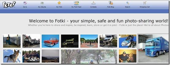 Fotki-fotki-home page