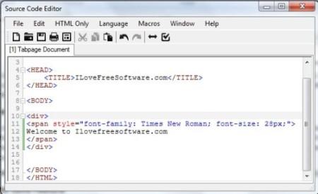 Free Advanced Text Editor - Vikon - Source Code Editor
