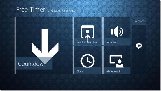 Free Timer - Main Screen