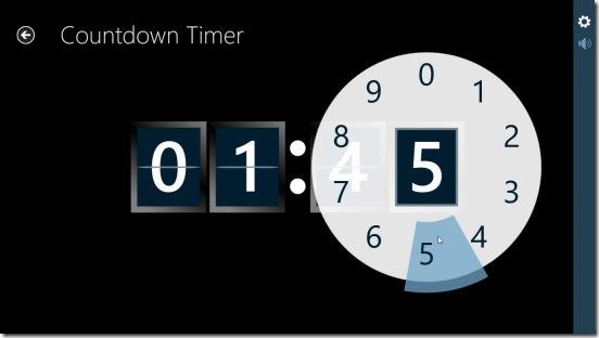 Free Timer - setting countdown timer