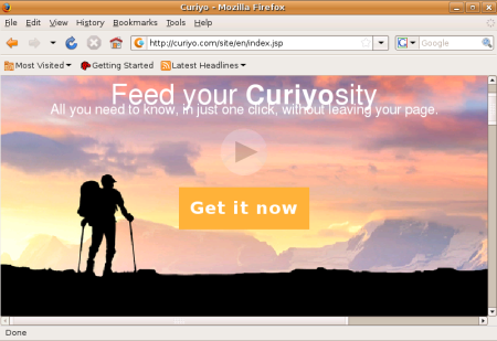 Free addon for Chrome - Curiyo - Get it