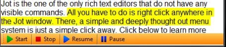 Free note taking software - Jot Tec - Text to Speech