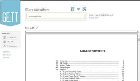Free online pdf viewer - Ge.tt
