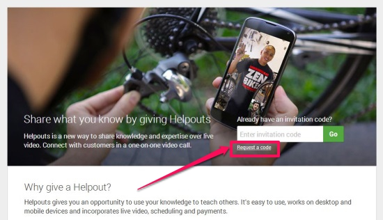 Google Helpouts - Giving Helpouts