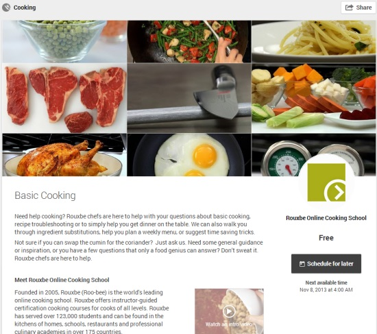Helpout  Basic Cooking  by Rouxbe Online Cooking School
