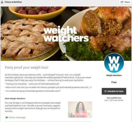 Helpout Party-proof your weight loss! by Weight Watchers