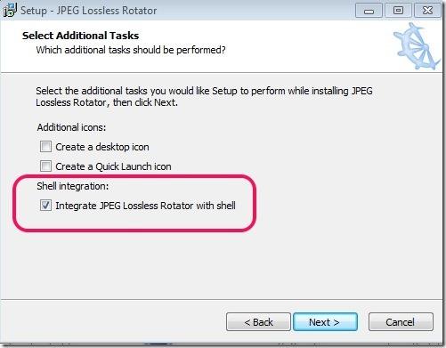 JPEG Lossless Rotator Shell Integration
