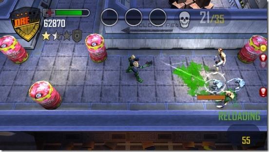 Judge Dredd vs. Zombies - gameplay
