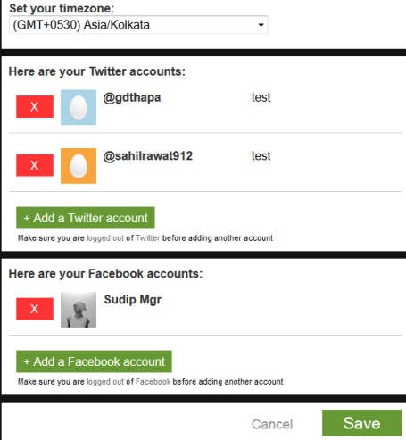 Later Bro- add more accounts by accessing settings