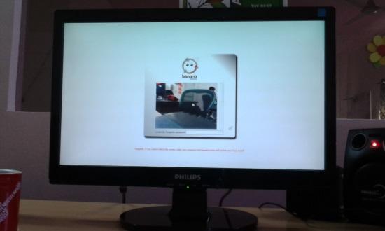 Lock Computer with BananaScreen