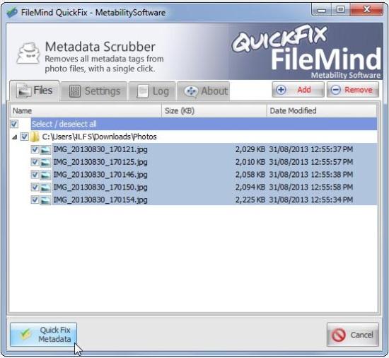 Metability QuickFix