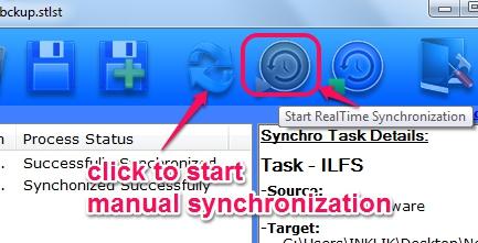 Molten Synchro- start synchronization