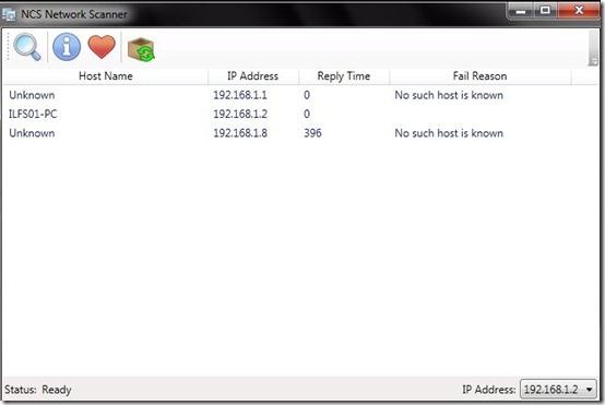 NCS Network Scanner- network scanner- scan report