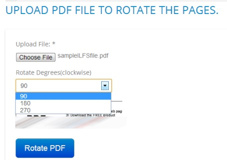 Online PDF Tools- rotate pdf pages