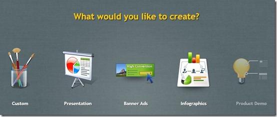 Presenter-online presentation maker- choose project