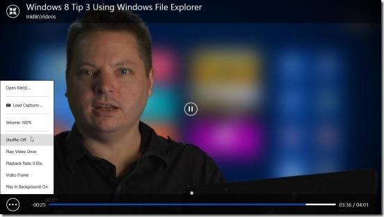 PressPlay Video - fullscreen mode and options