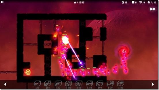 Radiant Defense - gameplay