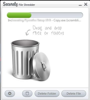 Securely File Shredder- permanently delete files