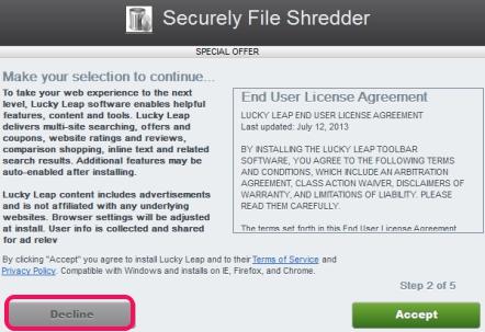 Securely File Shredder- skip extra tools installation