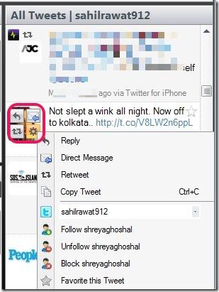 SharedMinds Desktop- take actions