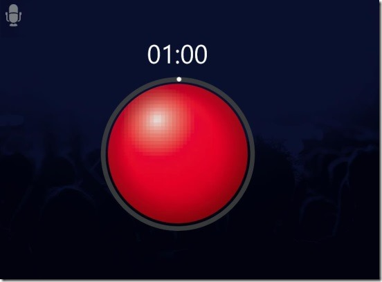 Speech Timer Free - idicating to stop recording