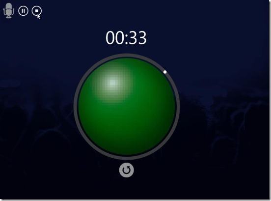 Speech Timer Free - playing a recording