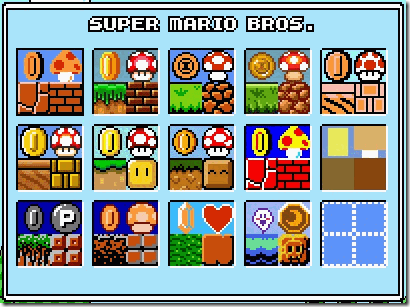 Play Super Mario CrossOver Online with Characters of