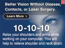Vision Defense- pop up message