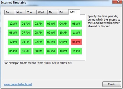 WebLock- Internet Timetable