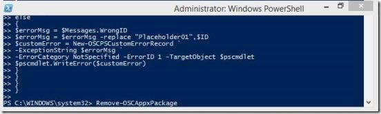 Windows 8 tutorial - running script