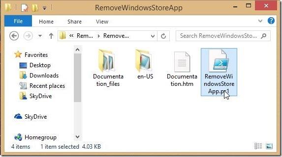 Windows 8 tutorial - script