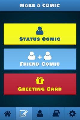 bitstrips comic creator page