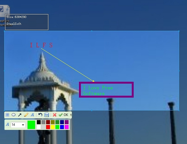 SteelSoft- capture screenshots and enhance with build-in editor