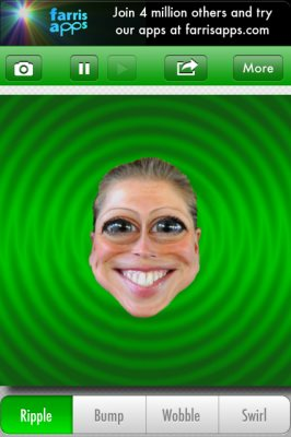 face effects home screen