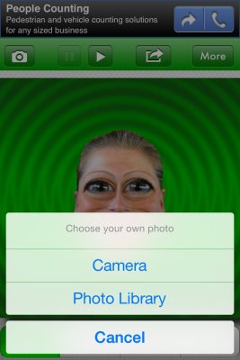 face effects select photo