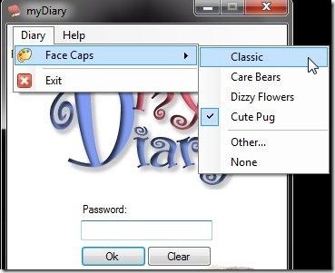 my Diary-my diary-face caps