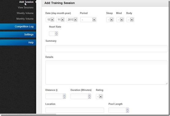 mySwinLog-log management-add sessions