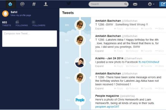 pretweetify- twitter interface