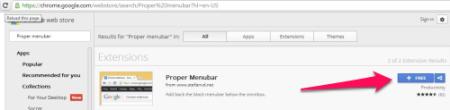 Get back the black bar - Proper Menubar