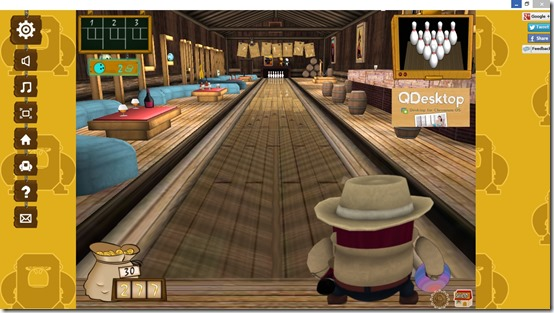 3D Bowling Game- Adjust the position