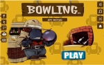 3D Bowling Game- Featured