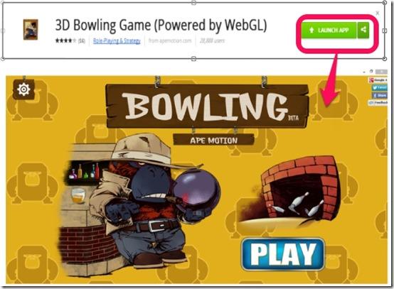 3D Bowling Game- Launching