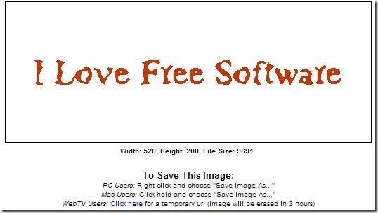 3dTextMaker save options