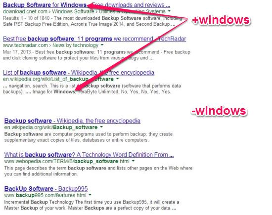 Advanced Google Search Technique - Operators
