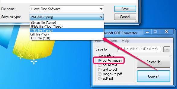 Altarsoft PDF Converter- convert pdf to images