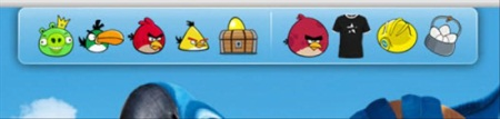 Angry Birds Skin Pack-angry birds theme-dock